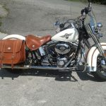 Road su Harley Davidson Softail + rivestimento sella (3)